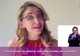 Por primera vez hay un noticiero 100% accesible en México